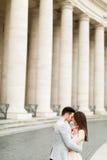 Пары в Риме Стоковое Изображение