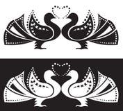пары голубей Иллюстрация штока