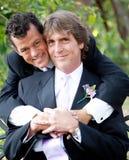 Пары гомосексуалиста в влюбленности Стоковые Фото