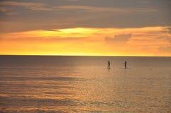 Романтичная прогулка моря Стоковая Фотография