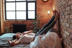 Пары дома стоковая фотография rf