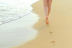 Пары женских ног Стоковая Фотография
