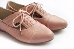 Пары женского ботинка Стоковое Изображение RF
