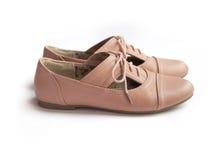 Пары женского ботинка Стоковая Фотография RF