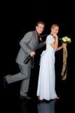 пары заново wed Стоковые Изображения