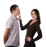 Пары заставляют замолчать закрытый вверх стоковое фото rf
