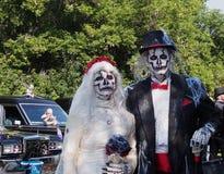 Пары зомби Стоковая Фотография
