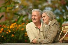 пары зреют романтичное Стоковые Фото