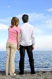 пары зреют романтичное стоковая фотография