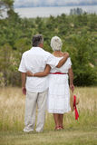 пары зреют outdoors Стоковая Фотография