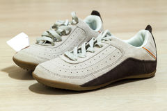 Пары изолированных ботинок Стоковое Фото