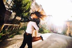 Пары имея потеху Стоковая Фотография RF
