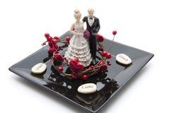 пары керамики невесты Стоковые Фото