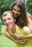 пары любят детенышей Стоковые Изображения