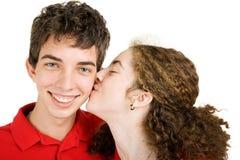 пары любят предназначенное для подростков Стоковое Фото