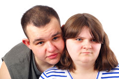 пары любят сь детенышей Стоковые Изображения