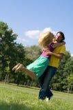 пары любят детенышей Стоковые Фото
