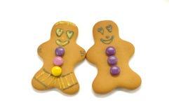 пары людей gingerbread Стоковые Изображения RF