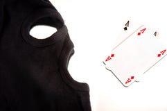 пары маски тузов Стоковое Изображение RF
