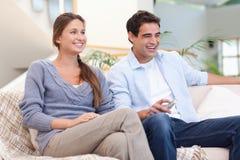 Пары миря TV Стоковая Фотография RF