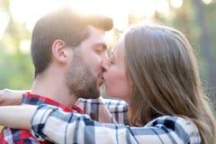 пары милые Стоковая Фотография