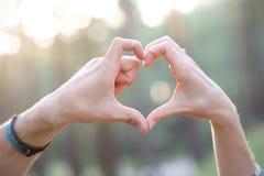 пары милые Стоковая Фотография RF