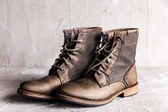 Пары новых ботинок Стоковая Фотография RF