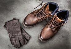 Пары новых ботинок Стоковые Изображения RF