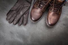 Пары новых ботинок Стоковое фото RF