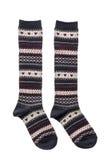 Пары носка хлопка для одежды стоковое изображение