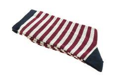 Пары носка хлопка для одежды стоковые изображения