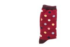 Пары носка хлопка для одежды стоковое фото rf