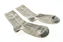 Пары носка хлопка для одежды Стоковые Фото