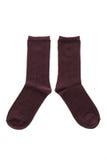Пары носка хлопка для одежды Стоковая Фотография
