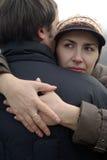 пары обнимая влюбленность Стоковые Изображения RF