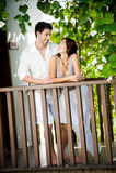 Пары ослабляя Outdoors Стоковое фото RF