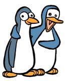 Пары пингвина Стоковое фото RF