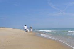 пары пляжа стоковые фото