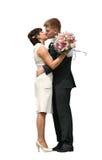 пары поженились заново Стоковое фото RF