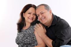 Пары постаретые серединой Стоковая Фотография