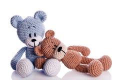 Пары плюшевого медвежонка Стоковые Изображения