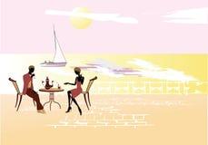 пары романтичные иллюстрация штока