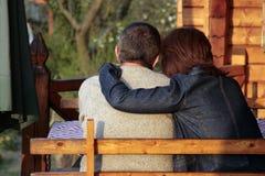 пары романтичные Стоковое Изображение RF