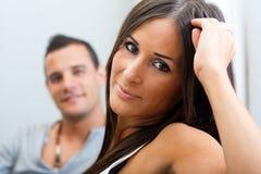 пары самонаводят портрет Стоковая Фотография RF
