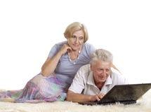 пары самонаводят возмужалый ослаблять Стоковая Фотография RF