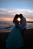 Пары свадьбы Азии Африки Стоковые Изображения RF