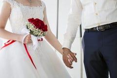 Пары свадьбы, цветок Стоковые Изображения
