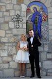 Пары свадьбы Стоковое фото RF