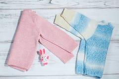 Пары свитеров для младенцев Стоковые Изображения