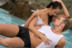 пары сексуальные Стоковое Изображение